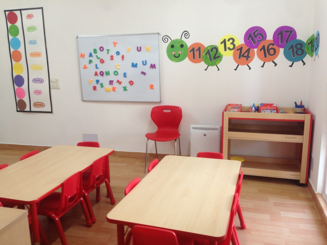 Classroom for 3's